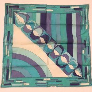 Vintage Emilio Pucci cotton scarf